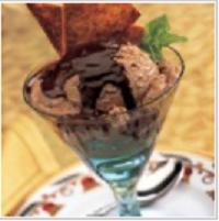Кофейно-шоколадное мороженое