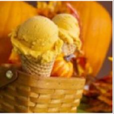 Мороженое с тыквой