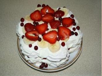 Торт из зефира.