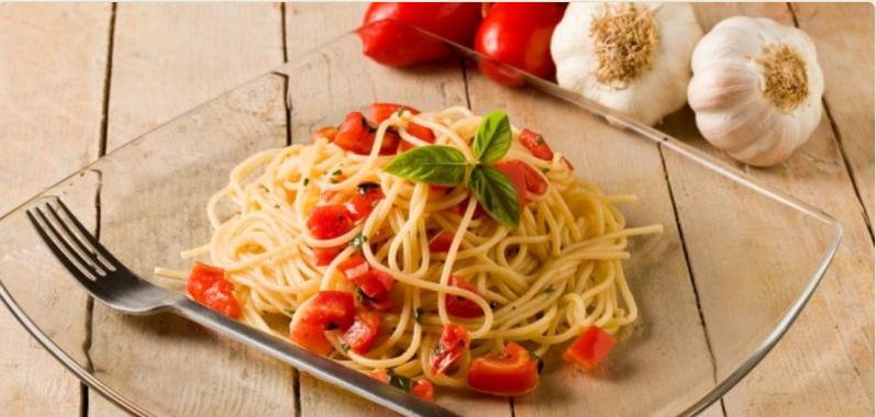 Готовим «Спагетти с чесноком»